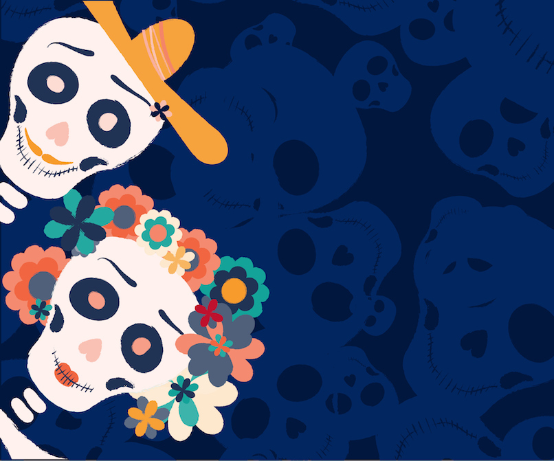 Day Of The Dead Lounge Header