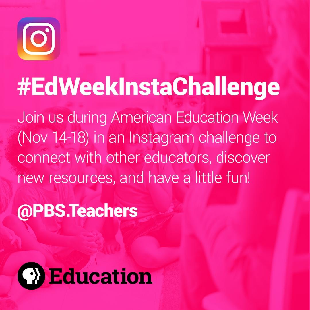 #EdWeekInstaChallenge