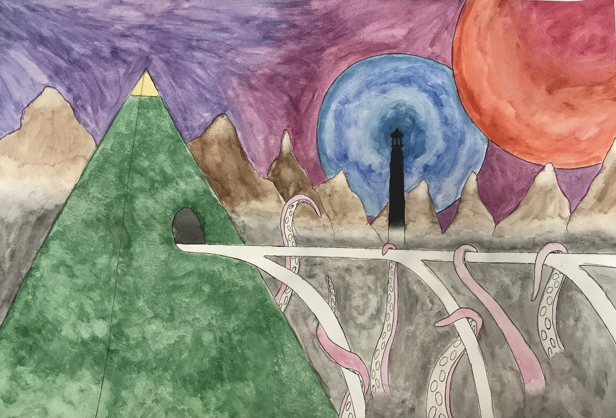 Psychological Landscape Student Work