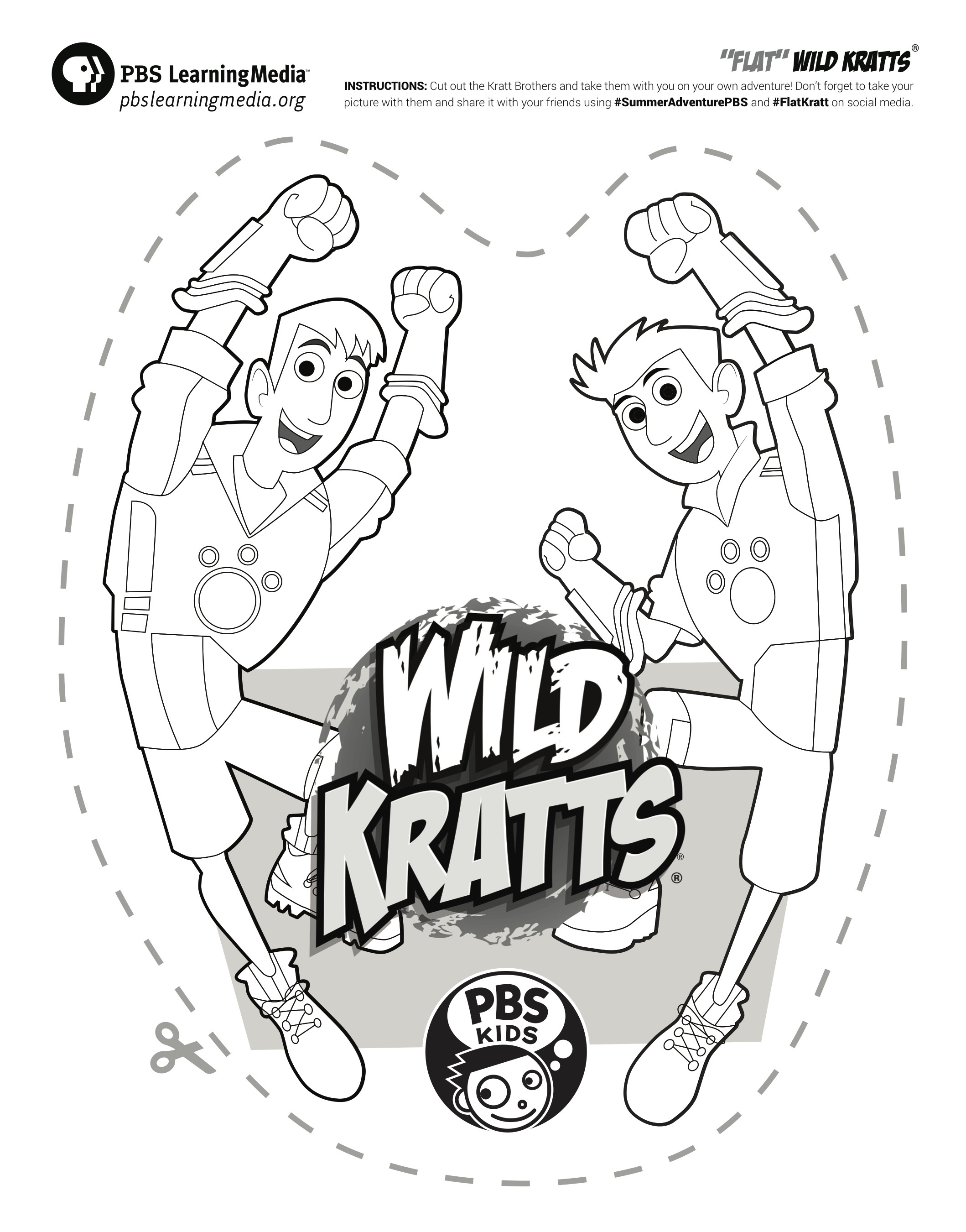 Flat Kratts Printable